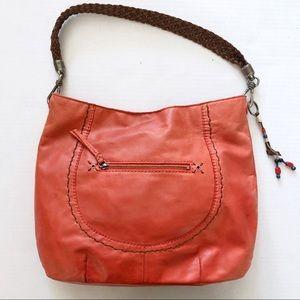 The Sak indio hobo leather purse - cayenne